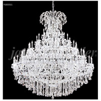 James R. Moder 91830S11 Maria Theresa Grand 128 Light 86 inch Silver Entry Chandelier Ceiling Light Large