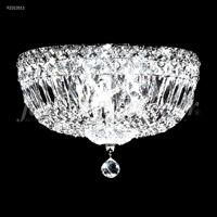 James R. Moder 92313S11 Prestige 3 Light 12 inch Silver Flush Mount Ceiling Light