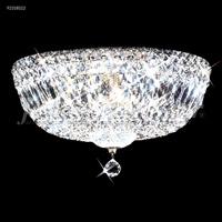 James R. Moder 92318S22 Prestige 12 Light 18 inch Silver Flush Mount Ceiling Light