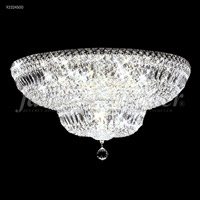 James R. Moder 92324S00 Prestige 16 Light 24 inch Silver Flush Mount Ceiling Light