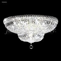 James R. Moder 92324S11 Prestige Collection 16 Light 24 inch Silver Flush Mount Ceiling Light
