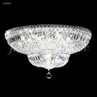 Prestige 16 Light 24 inch Silver Flush Mount Ceiling Light