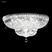 James R. Moder 92324S22 Prestige Collection 16 Light 24 inch Silver Flush Mount Ceiling Light