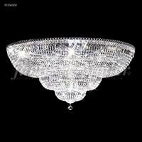 James R. Moder 92336S00 Prestige 24 Light 36 inch Silver Flush Mount Ceiling Light