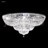 James R. Moder 92336S11 Prestige Collection 24 Light 36 inch Silver Flush Mount Ceiling Light