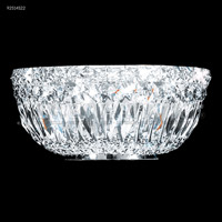 James R. Moder 92514S22 Prestige 2 Light 11 inch Silver Crystal Chandelier Ceiling Light