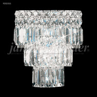 James R. Moder 92521S11 Prestige 2 Light Silver Wall Sconce Wall Light