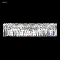 James R. Moder 92522S11 Prestige 4 Light Silver Vanity Bar Wall Light