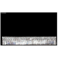 Prestige 8 Light Silver Vanity Bar Wall Light