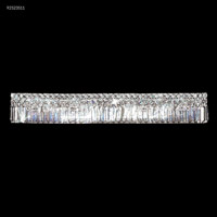 James R. Moder 92523S11 Prestige 8 Light Silver Vanity Bar Wall Light