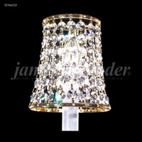 James R. Moder 92766S11 Clip-On Silver 4 inch Shade