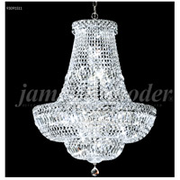 James R. Moder 93091S11 Prestige 22 Light 22 inch Silver Crystal Chandelier Ceiling Light