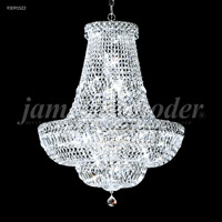 James R. Moder 93091S22 Prestige 22 Light 22 inch Silver Crystal Chandelier Ceiling Light