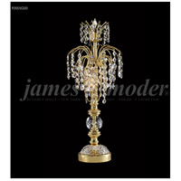 James R. Moder Gold Table Lamps