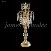 James R. Moder 93501G22 Table & Floor Lamps Collection 20 inch 60 watt Gold Boudoir Lamp Portable Light