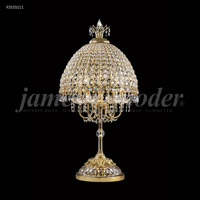 James R. Moder 93531G11 Table & Floor Lamps Collection 34 inch 60 watt Gold Table Lamp Portable Light