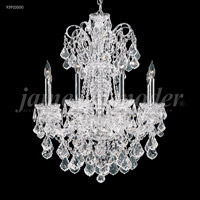 Maria Elena 10 Light 33 inch Silver Chandelier Ceiling Light