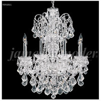 James R. Moder 93910S11 Maria Elena 10 Light 33 inch Silver Chandelier Ceiling Light