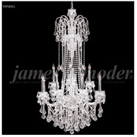 James R. Moder 93918S11 Maria Elena 12 Light 33 inch Silver Entry Chandelier Ceiling Light