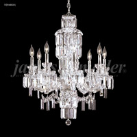 James R. Moder 93948S11 Buckingham 8 Light 26 inch Silver Chandelier Ceiling Light