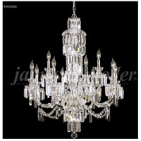 James R. Moder 93954S00 Buckingham 24 Light 48 inch Silver Entry Chandelier Ceiling Light