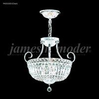 James R. Moder 94051S00 Signature 3 Light 15 inch Silver Mini Chandelier Ceiling Light