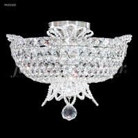 James R. Moder 94101S00 Princess Collection 6 Light 16 inch Silver Flush Mount Ceiling Light