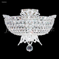 James R. Moder 94101S11 Princess Collection 6 Light 16 inch Silver Flush Mount Ceiling Light