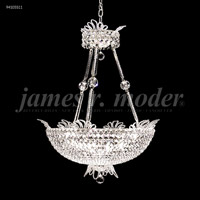 James R. Moder 94105S11 Princess 16 Light 24 inch Silver Chandelier Ceiling Light