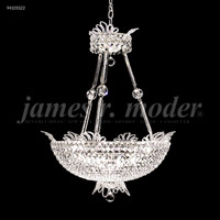 James R. Moder 94105S22 Princess 16 Light 24 inch Silver Chandelier Ceiling Light