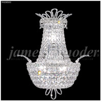 James R. Moder 94108S00 Princess Collection 3 Light Silver Wall Sconce Wall Light