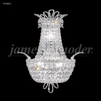 James R. Moder 94108S11 Princess Collection 3 Light Silver Wall Sconce Wall Light
