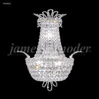 James R. Moder 94108S11 Princess 3 Light Silver Wall Sconce Wall Light