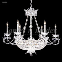 James R. Moder 94110S00 Princess Collection 22 Light 32 inch Silver Chandelier Ceiling Light