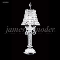 James R. Moder 94113S11-55 Princess 21 inch 60 watt Silver Boudoir Lamp Portable Light