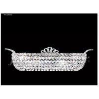James R. Moder 94118S00 Princess Collection 4 Light Silver Vanity Bar Wall Light