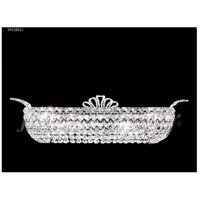 James R. Moder 94118S11 Princess Collection 4 Light Silver Vanity Bar Wall Light