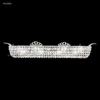 James R. Moder 94119S00 Princess Collection 8 Light Silver Vanity Bar Wall Light