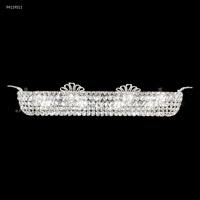 James R. Moder 94119S11 Princess Collection 8 Light Silver Vanity Bar Wall Light