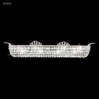 Princess 8 Light Silver Vanity Bar Wall Light