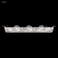 James R. Moder 94120S11 Princess 12 Light Silver Vanity Bar Wall Light