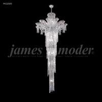 James R. Moder 94122S00 Princess 22 Light 32 inch Silver Entry Chandelier Ceiling Light Large