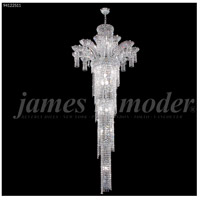 James R. Moder 94122S11 Princess 22 Light 32 inch Silver Entry Chandelier Ceiling Light