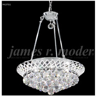 James R. Moder 94137S11 Jacqueline 4 Light 15 inch Silver Mini Chandelier Ceiling Light