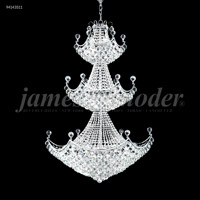 James R. Moder 94143S11 Jacqueline 29 Light 36 inch Silver Entry Chandelier Ceiling Light