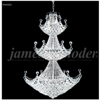 James R. Moder 94143S22 Jacqueline 29 Light 36 inch Silver Entry Chandelier Ceiling Light