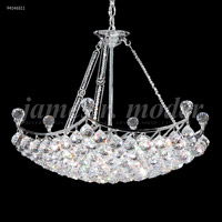 James R. Moder 94146S11 Jacqueline 18 Light 26 inch Silver Chandelier Ceiling Light