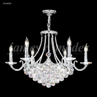 James R. Moder 94148S00 Jacqueline 15 Light 29 inch Silver Chandelier Ceiling Light