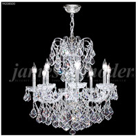 James R. Moder 94208S00 Vienna 8 Light 26 inch Silver Crystal Chandelier Ceiling Light