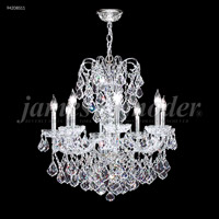 James R. Moder 94208S11 Vienna 8 Light 26 inch Silver Crystal Chandelier Ceiling Light